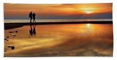 Orange Sunset   Beach Sheet