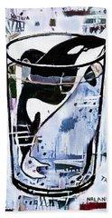 Orca #1 Beach Towel