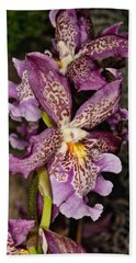Orchid 347 Beach Towel