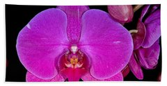 Orchid 424 Beach Towel