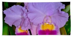 Orchid 428 Beach Towel