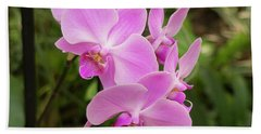 Orchid #6 Beach Towel