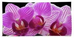 Orchid Beauties Beach Sheet