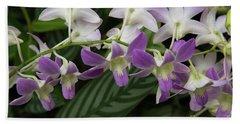 Orchid Beauty Beach Sheet