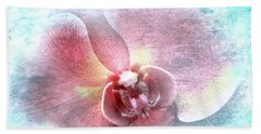 Orchid Fairy Beach Towel