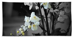 Orchid Selective Color Beach Towel