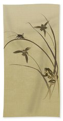 Orchid Sonata Beach Towel