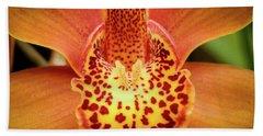 Orchid Splendor Beach Sheet