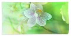Orchid2 Beach Towel