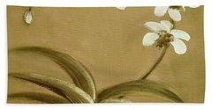 Orchids 3 Beach Sheet