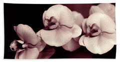 Beach Towel featuring the photograph Orchids Hawaii by Mukta Gupta