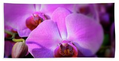 Orchids Beach Towel