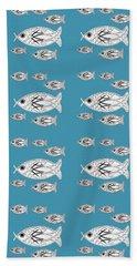 Orderly Formation - School Of Fish Beach Sheet