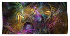 Beach Towel featuring the digital art Ordinary Instances by NirvanaBlues