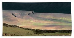 Oregon Canyon Mountain Layers Beach Towel by Leland D Howard