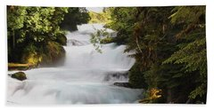 Oregon Cascade Beach Towel