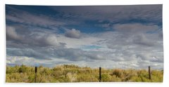 Oregon Clouds Beach Towel