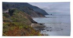 Oregon Coastal Vista Beach Towel by Patricia Strand