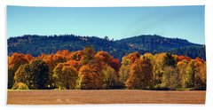 Oregon Fall Beach Towel