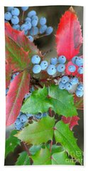 Oregon Grape Beach Towel