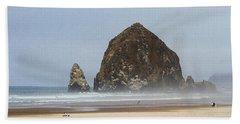 Oregon Rocks  Beach Towel