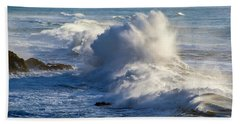 Beach Sheet featuring the photograph Oregon Surf by Dennis Bucklin