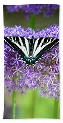 Beach Towel featuring the photograph Oregon Swallowtail by Bonnie Bruno