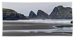 Oregon Tide Beach Towel