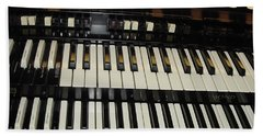 Hammond Organ Keys Beach Sheet