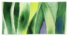 Organic Abstract By Nature I Beach Towel