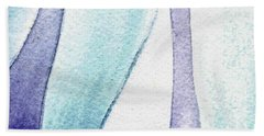 Organic Abstract By Nature IIi Beach Towel