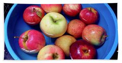 Organic Apples Beach Sheet