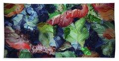 Organic Impressions 7 Beach Sheet by Cedric Hampton