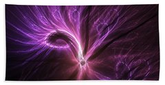 Beach Towel featuring the digital art Orient Spice by Michal Dunaj