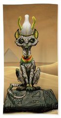 Osiris Egyptian God Beach Towel