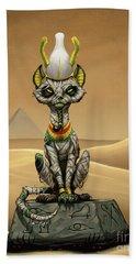 Osiris Egyptian God Beach Sheet