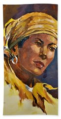 Orleans Woman II Beach Sheet