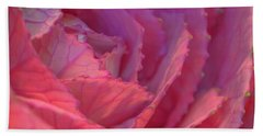 Ornamental Pink Beach Towel by Roy McPeak