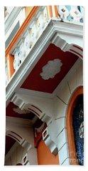 Ornate Balcony Beach Sheet by The Art of Alice Terrill
