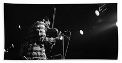 Ornette Coleman On Violin Beach Towel