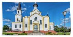 Orthodox Church Of The Exaltation Of The Holy Cross  Beach Towel