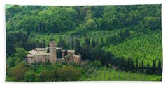 Orvieto Castle Beach Towel