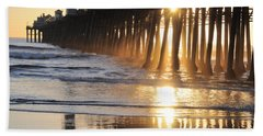 O'side Pier Beach Towel