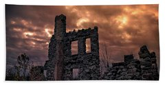 Osler Castle Beach Towel