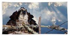 Osprey Angry Beach Towel
