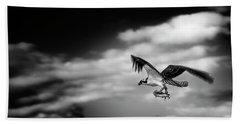 Osprey Catch Of The Day Beach Towel
