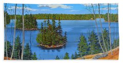 Osprey Island Beach Towel