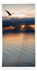 Ospreys Beach Sheet by Mal Bray