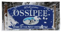 Ossipee Nh Beach Towel