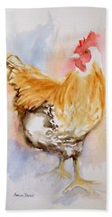 Our Buff Rooster  Beach Sheet